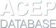 Acep's Database